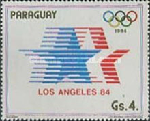 [Winners of the Summer Olympic Games - Los Angeles, USA 1984, Typ CYX]