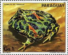 [Nature Protection - Animals of Paraguay, Typ CZY]