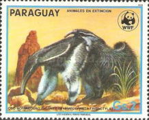 [Nature Protection - Animals of Paraguay, Typ CZZ]