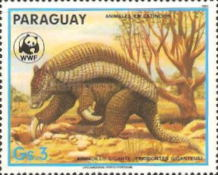 [Nature Protection - Animals of Paraguay, Typ DAA]