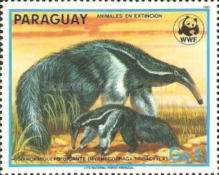 [Nature Protection - Animals of Paraguay, Typ DAB]