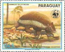 [Nature Protection - Animals of Paraguay, Typ DAC]
