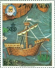 [Airmail - Ships and Navigators, Typ DCL]