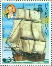 [Airmail - Ships and Navigators, Typ DCN]