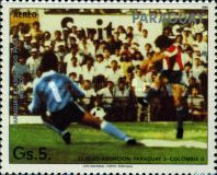 [Airmail - Qualification for Football World Cup - Mexico 1986, Typ DFC]