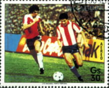 [Airmail - Qualification for Football World Cup - Mexico 1986, Typ DFE]
