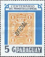 [The 100th Anniversary of Services in Paraguay, Typ DFY]