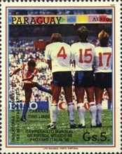 [Airmail - Football World Cup - Mexico 1986, type DHC]