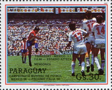 [Airmail - Football World Cup - Mexico 1986, type DHG]