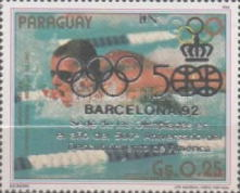 [Olympic Games - Barcelona, Spain (1992), and the 500th Anniversary of Discovery of America (1992), type DHK]