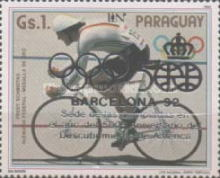 [Olympic Games - Barcelona, Spain (1992), and the 500th Anniversary of Discovery of America (1992), type DHM]