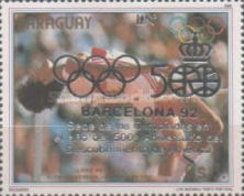 [Olympic Games - Barcelona, Spain (1992), and the 500th Anniversary of Discovery of America (1992), type DHO]