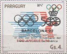 [Olympic Games - Barcelona, Spain (1992), and the 500th Anniversary of Discovery of America (1992), type DHP]