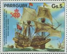 [The 500th Anniversary of the Discovery of America, 1992, type DIV]