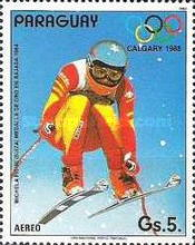 [Airmail - Winter Olympic Games - Calgary, Canada, type DIX]