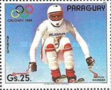 [Airmail - Winter Olympic Games - Calgary, Canada, type DJA]