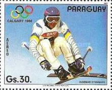 [Airmail - Winter Olympic Games - Calgary, Canada, type DJB]