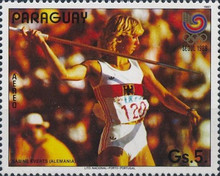 [Airmail - Olympic Games - Seoul, Korea 1988, type DJM]