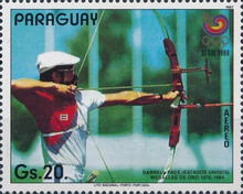[Airmail - Olympic Games - Seoul, Korea 1988, type DJO]