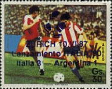 [Airmail - Advertising for the 1990 Football World Cup in Italy, type DKH]