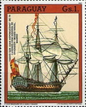 [The 500th Anniversary of the Discovery of America - Sailing Ships, type DKL]