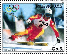 [Winter Olympic Games - Calgary, Canada, type DLF]