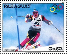 [Winter Olympic Games - Calgary, Canada, type DLG]