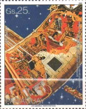 [Airmail - Space Travel, Typ DMF]