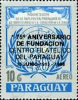 [Airmail - The 75th Anniversary of Philatelic Centrum of Paraguay, Typ DNF]