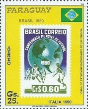 [Airmail - History of Football World Cup, Typ DNQ]