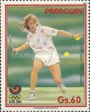 [Olympic Games - Seoul, Korea - Tennis, Typ DOE]