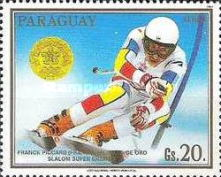 [Airmail - Gold Medal Winners of Winter Olympic Games in Calgary, Canada, Typ DOH]