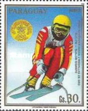[Airmail - Gold Medal Winners of Winter Olympic Games in Calgary, Canada, Typ DOJ]