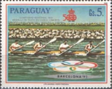 [Olympic Games - Barcelona, Spain 1992, Typ DOV]
