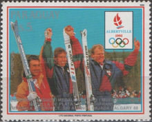 [Airmail - Winter Olympic Games - Albertville, France, Typ DQJ]