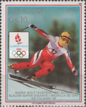 [Airmail - Winter Olympic Games - Albertville, France, Typ DQK]