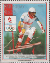[Airmail - Winter Olympic Games - Albertville, France, Typ DQM]