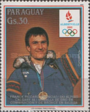 [Airmail - Winter Olympic Games - Albertville, France, Typ DQN]