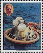 [Airmail - The 20th Anniversary of First Manned Moonlanding, Typ DQZ]