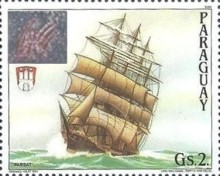 [The 800th Anniversary of the Port of Hamburg - Overprinted, Typ DSI]