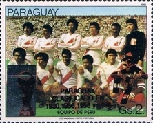 [Football World Cup - Italy - Paraguay's Participation in Previous Finals, Typ DSW3]