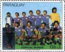 [Football World Cup - Italy - Paraguay's Participation in Previous Finals, Typ DSW4]