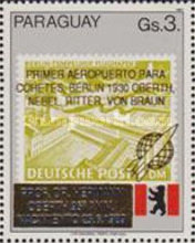 [The 95th Anniversary of the Birth of Hermann Oberth, 1894-1989, Typ DTL]