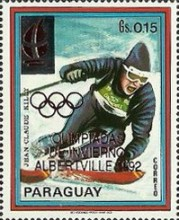[Winter Olympic Games - Albertville, France, Typ DTO]
