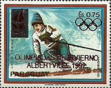 [Winter Olympic Games - Albertville, France, Typ DTT]