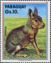 [Airmail - Wild Animals, type DVE]