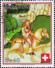 [The 700th Anniversary of Swiss Confederation, Typ DVK]