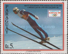 [Winter Olympic Games - Albertvill, France 1992, type DWA]