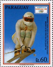 [Winter Olympic Games - Albertvill, France 1992, Typ DWB]