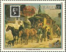 [Airmail - Post Carriages, type DWG]